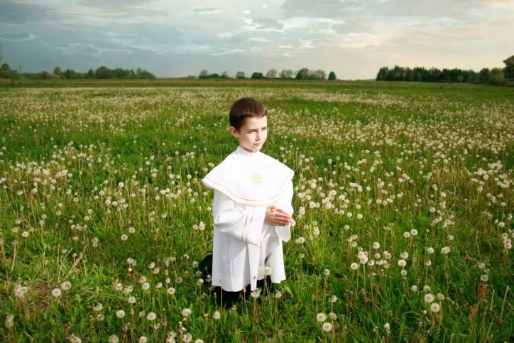 Elsősorban másod és harmadszülött fiút neveltek papnak.