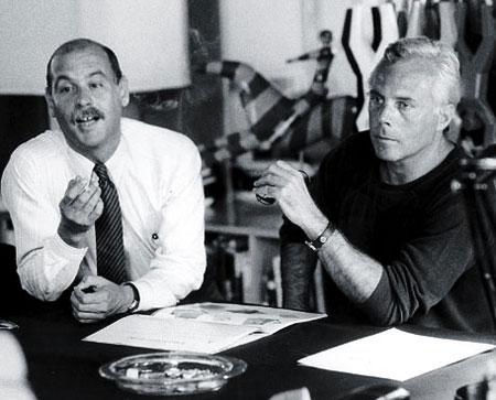 Giorgio Armani és Sergio Galleotti