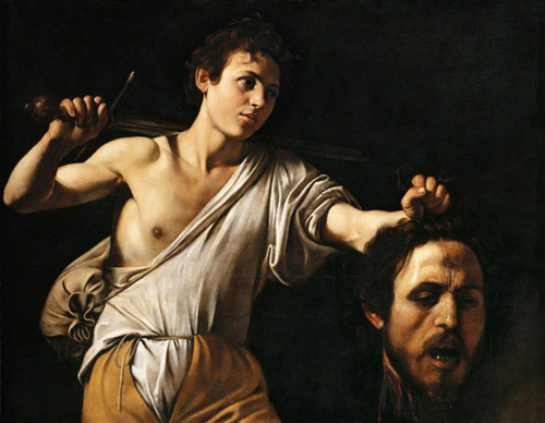 David with the Head of Goliath - Carvaggio