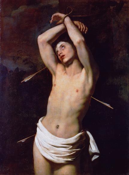 St Sebastian - Renieri Niccolo Regnier Nicolas