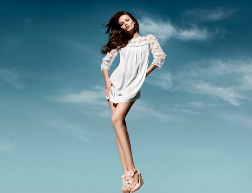 H&M Spring2011 Conscious Collection; all pieces are made from organic cotton
