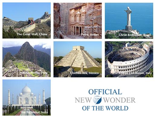 new 7 wonders